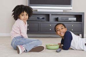 Quels sont les effets des médias A sur le développement d'un mode de vie sain pour les enfants