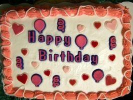Birthday Party décoratifs Idées alimentaires