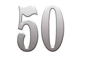 50ème de luxe Idées cadeaux d'anniversaire