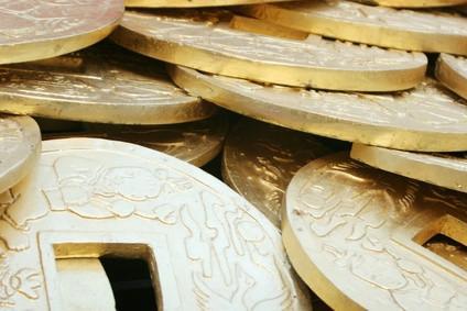 Valeur de vieilles pièces de monnaie chinoise