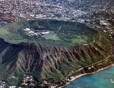 Volcans dans la période triasique