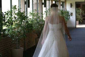 Comment faire une cathédrale voile de mariage