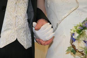 Etiquette pour un mariage Friday Night