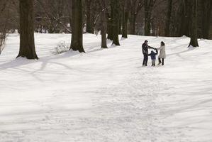 Conseils de sécurité pour le lac Effet de neige