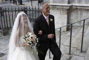 DIY Cascade Trailing bouquet de mariage
