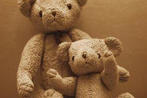 Comment construire une vitrine en bois Teddy Bear