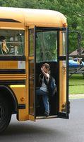 Cadeaux pour les autobus scolaires des enfants à partir du pilote
