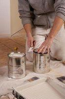 Effets sur la santé sur les bébés de respiration Peintures à l'huile à base