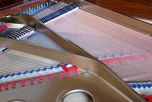 Quelles sont les différentes parties du piano?