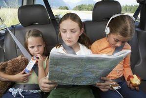 Comment garder les enfants occupés dans la voiture