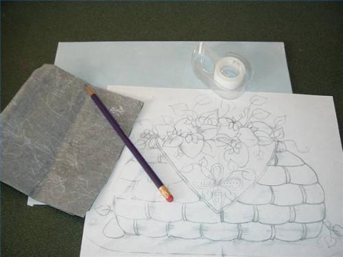 Comment utiliser le transfert de papier sur toile