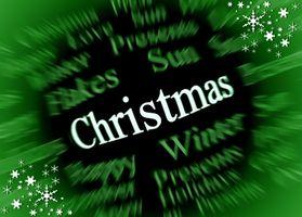 Endroits pour une fête de Noël