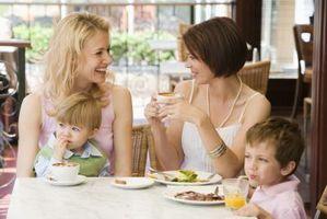 Comment aider les tout-petits dans Restaurants Behave