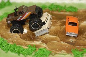 Idées Voitures Birthday Cake Decorating