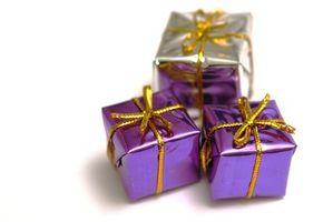 Comment faire pour envoyer des cadeaux d'anniversaire