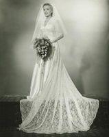 Robes de mariée des années 1920, 1930 et 1940