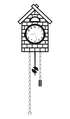 Quels sont les Cordes pour le bas d'une horloge de coucou?