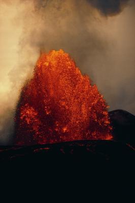 Quel équipement est utilisé pour détecter une éruption volcanique avant que cela arrive?