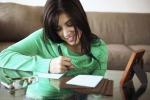 Prewriting Idées pour une lettre amicale