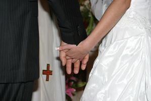 Formats des prières pour un mariage