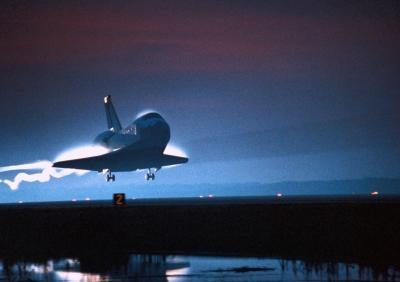Quelles sont les fonctions des parties d'une navette spatiale?