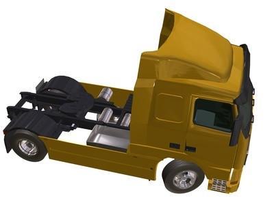 Comment puis-je faire une remorque de camion de LEGO?
