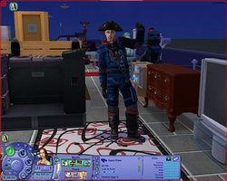 Comment devenir un pirate de l'espace dans Les Sims 2