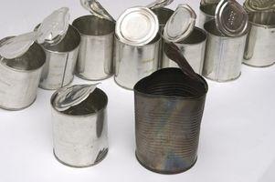 Quels sont certains objets métalliques qui peuvent être recyclés?