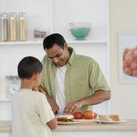 Comment enseigner aux enfants Cuisine Brûlures