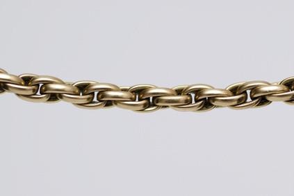 Types de chaînes en or blanc