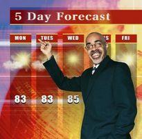 Comment calculer la température, l'humidité et Index Vent