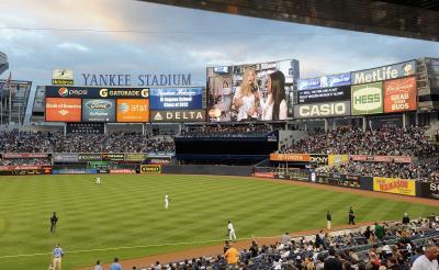 Comment proposer sur le grand écran Yankee Stadium
