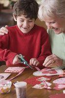 Homemade Artisanat Saint-Valentin pour les enfants