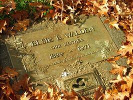 Comment localiser une tombe d'un membre de la famille