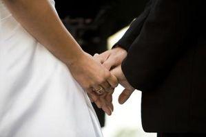 Anglais robes de mariée des années 1960