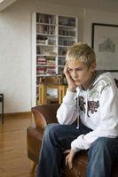 Les signes d'un adolescent troublé Avertissement