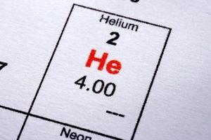 Comment calculer le poids de l'hélium