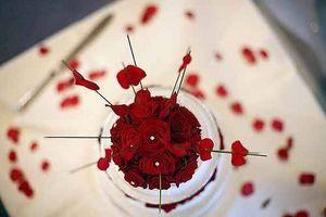 Idées de décoration de mariage Rouge