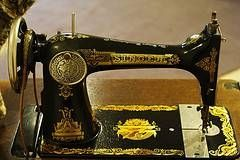A propos de coudre anciennes machines