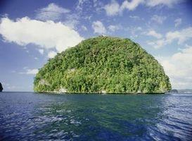La différence entre un îlot et une île