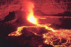 Quels sont les 8 pièces principales d'un volcan?