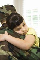 Quels sont les principaux facteurs de stress des militaires enfants?