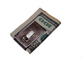 Cadeaux d'argent Clip pour Groomsmen