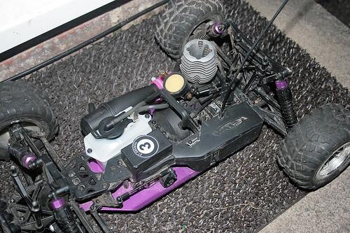 Dépannage Nitro RC voiture