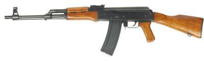 Comment faire pour modifier le stock sur un fusil SKS