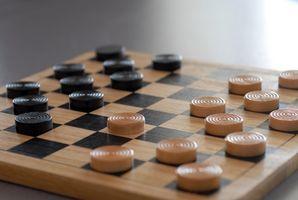 Règles pour le plateau de jeu de dames
