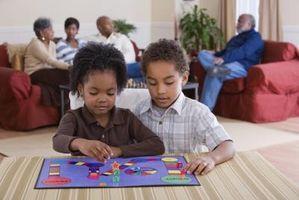 Jeux de société pour les enfants âgés de quatre à six