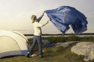 Comment faire une tente miniature