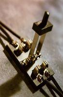 Comment faire un circuit simple avec un commutateur
