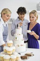 Comment faire un petit gâteau stand pour une douche nuptiale